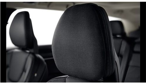 Genuine Volvo Front / Rear Headrest Pillow (Fabric: Wool Colour: Charcoal)